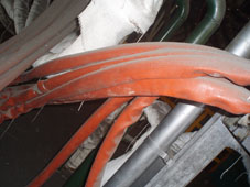 专业防护钢厂电缆-电缆耐高温保护套管